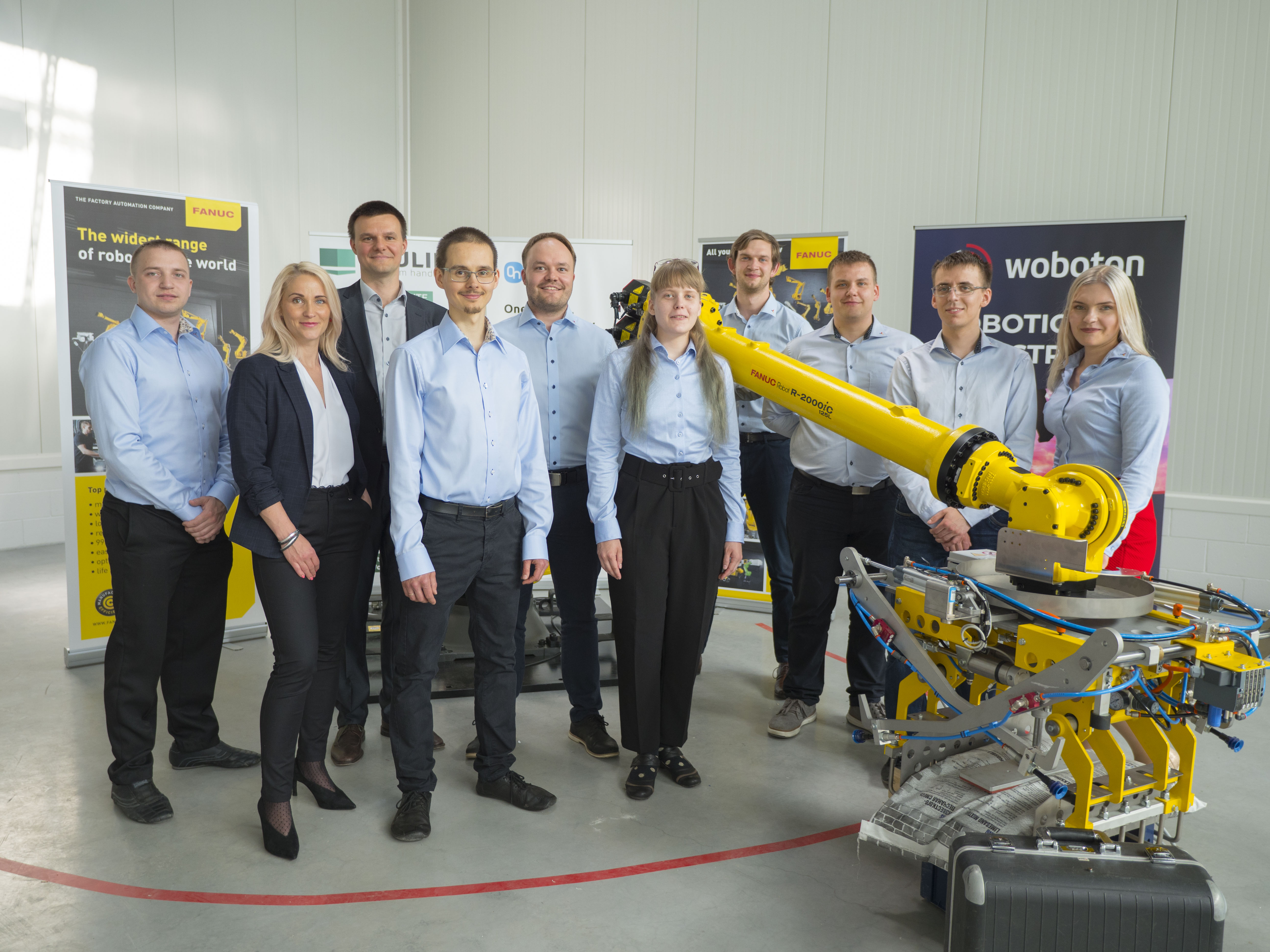 Industrial Automation company Atemix helps the Estonian industrial landscape to a new level and VITS supports them on their way